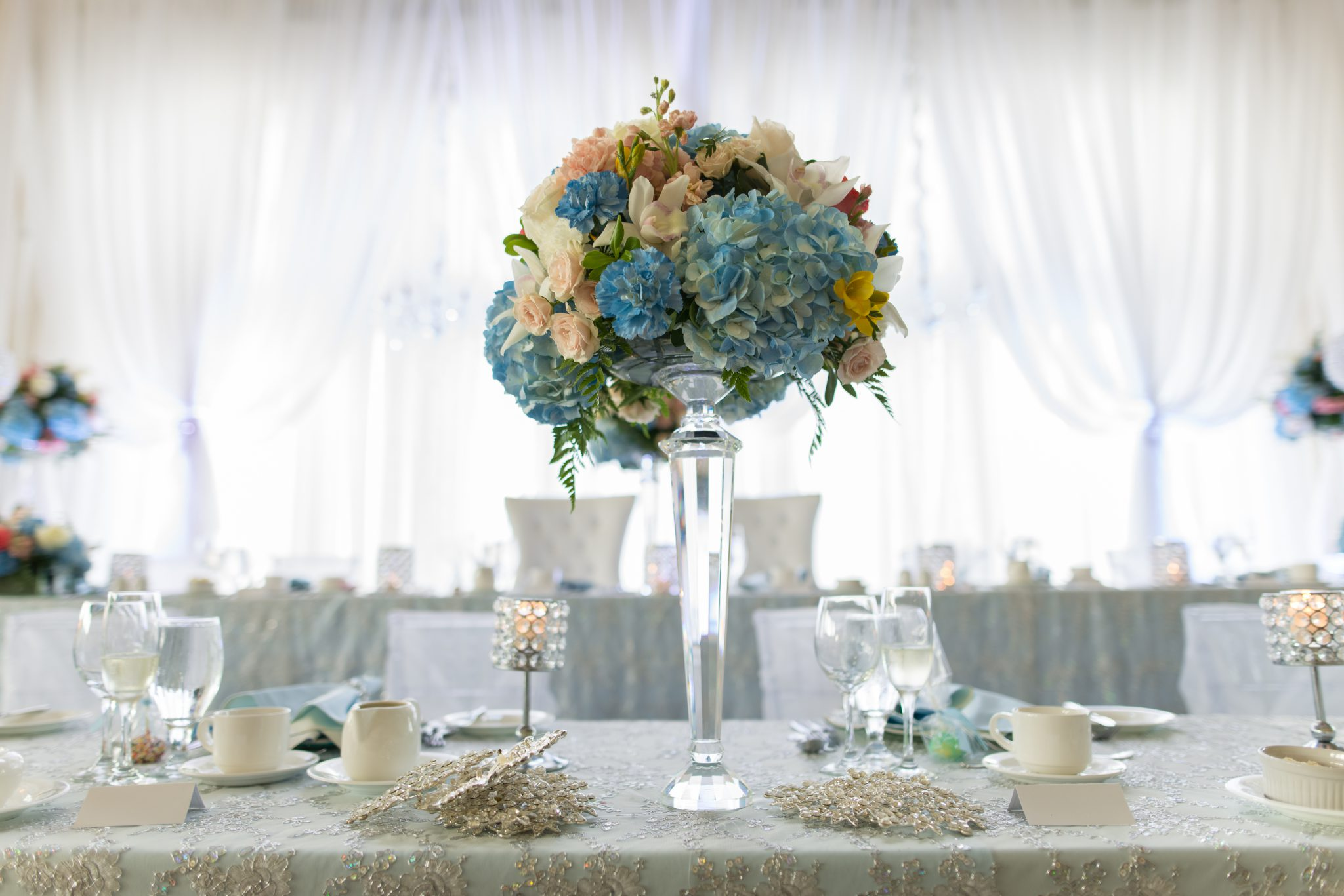 A Blue and Coral Wedding at the Deer Creek Event Centre – Superior ...